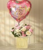 Pink Lullaby & balloon