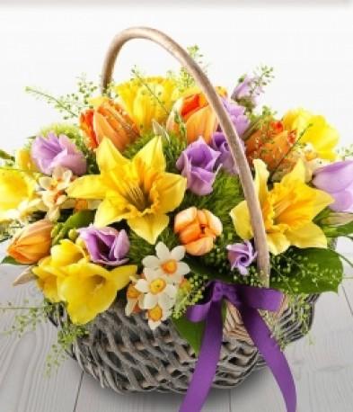 Spring Time Basket